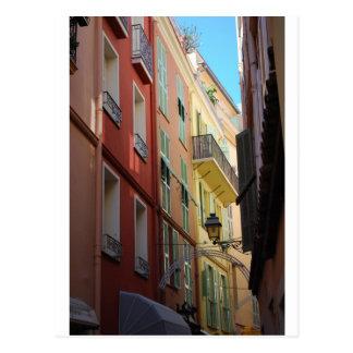 Alleyway in Monte Carlo, Monaco Postcard