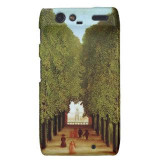 Alleyway in the Park of Saint-Cloud, 1908 (oil on Motorola Droid RAZR Covers