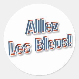"""""""Allez Les Bleus!"""" sticker"""
