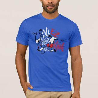 Allez Them Bleus! Blue France t-shirt