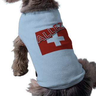 ALLEZ with Swiss Flag T-Shirt