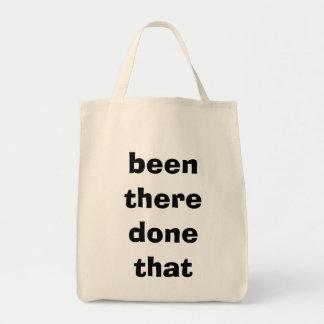 """""""allí hecho ése """" bolsa tela para la compra"""