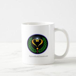 Alliance agnóstico - taza de café