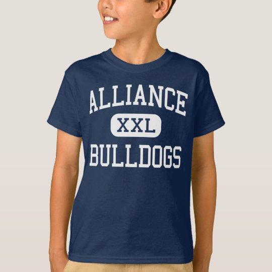 Alliance - Bulldogs - High - Alliance Nebraska T-Shirt