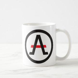 Alliance del libertario a la izquierda del café taza clásica