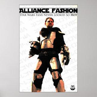 Alliance Fashion - The Mandalorian Poster