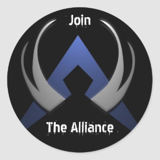 Alliance-logo, The Alliance, Join Classic Round Sticker