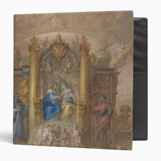 Alliance of France and Spain 3 Ring Binder