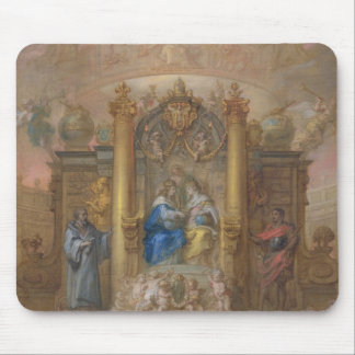 Alliance of France and Spain Mouse Pad