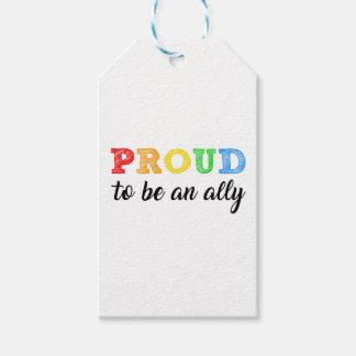 Alliance recto gay alía etiquetas para regalos