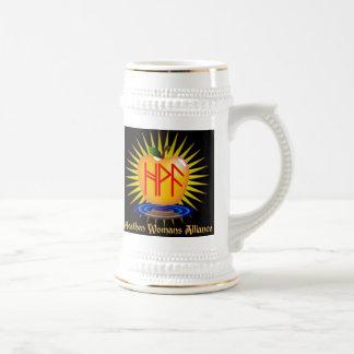 Alliance Stein de la mujer pagana Taza De Café