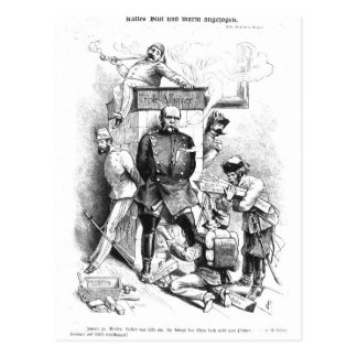 Alliance triple, de 'Bismarck Tarjeta Postal