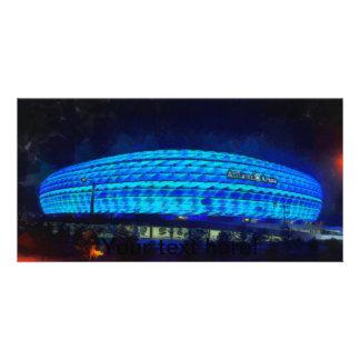 Alliaz Arena painting Photo Card