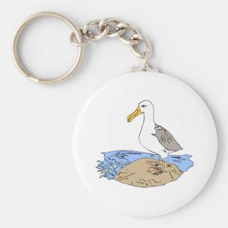 Allie Albatross Keychain