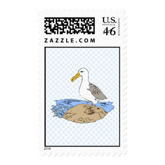 Allie Albatross Postage Stamps