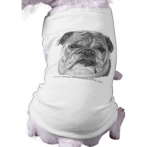 Allie, dogo camisas de perritos