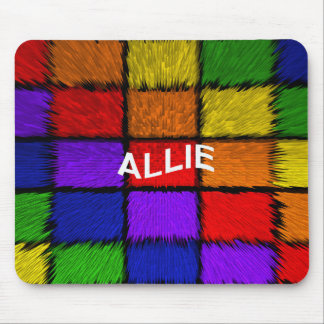 ALLIE ( female names ) Mouse Pad
