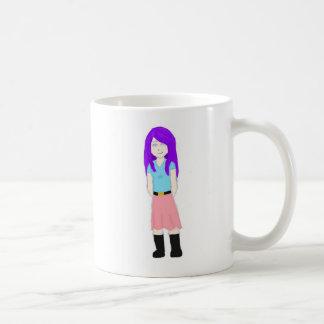 Allie inocente taza básica blanca