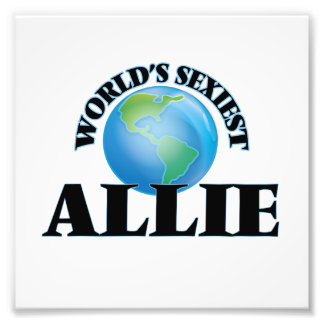 Allie más atractivo del mundo cojinete