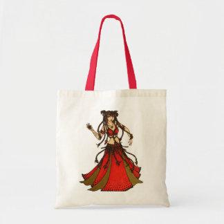 Alliecat Tribal belly Dancer Tote Bag