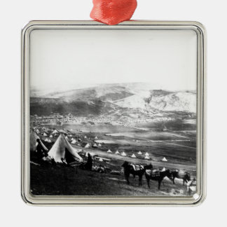 Allied Encampment, Crimea, c.1855 Metal Ornament