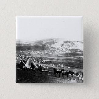 Allied Encampment, Crimea, c.1855 Pinback Button