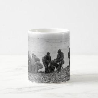Allied Forces Landing on Omaha Beach World War II Coffee Mug