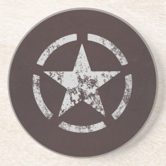 Allied US White Star Vintage Sandstone Coaster