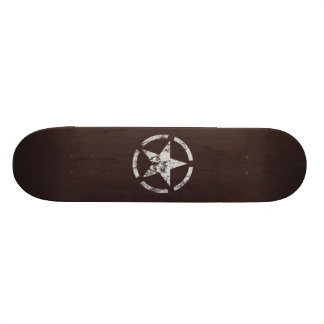 Allied US White Star Vintage Skateboard Deck