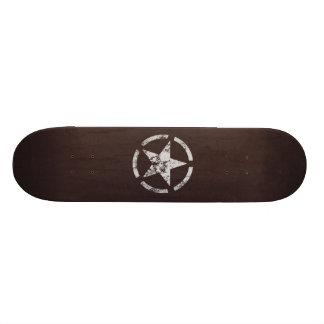 Allied US White Star Vintage Skateboard Deck