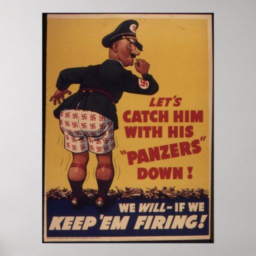 Allied War Effort Poster