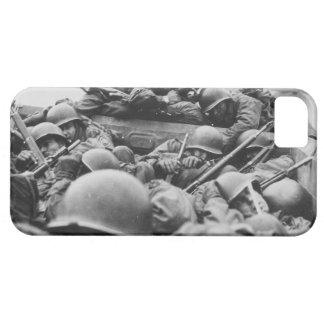 Allied World War II Soldiers Crossing the Rhine iPhone 5 Covers