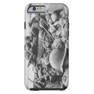 Allied World War II Soldiers Crossing the Rhine iPhone 6 Case