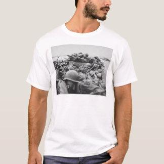 Allied World War II Soldiers Crossing the Rhine T-Shirt