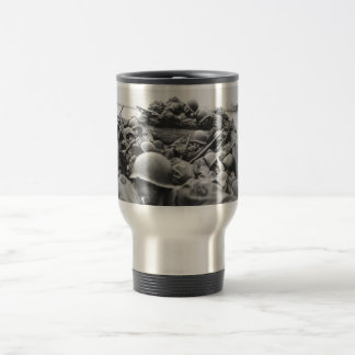 Allied World War II Soldiers Crossing the Rhine Travel Mug