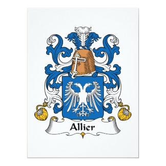 Allier Family Crest Announcements
