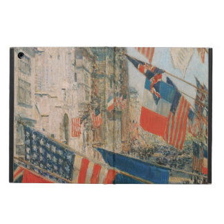 Allies Day, May 1917 by Childe Hassam, Vintage Art iPad Air Cases