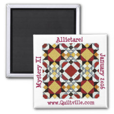 Allietaire Magnet at Zazzle