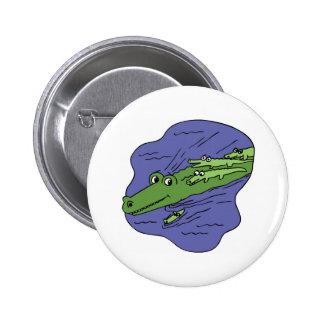 Alligator-10115 2 Inch Round Button