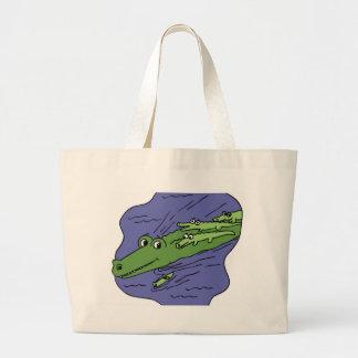 Alligator-10115 Jumbo Tote Bag