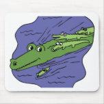 Alligator-10115 Tapetes De Ratones
