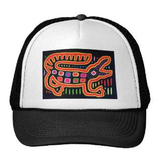 ALLIGATOR 2000 dpi 3000 BLK BORDER FIX Trucker Hat