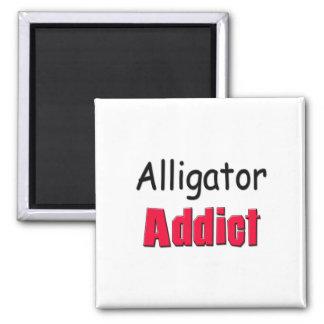 Alligator Addict Refrigerator Magnet