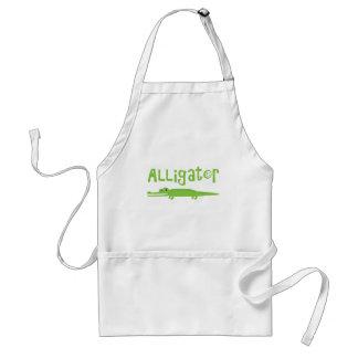 Alligator Adult Apron