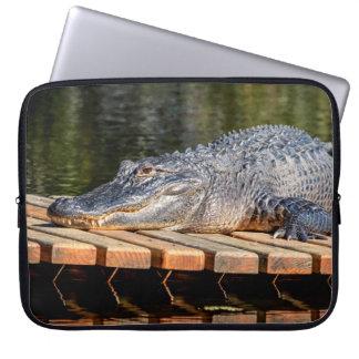 Alligator at Homosassa Springs Wildlife State Park Laptop Sleeve