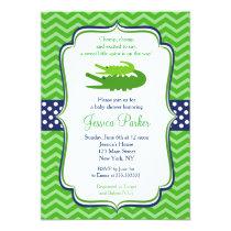 Alligator Baby Shower Invitations