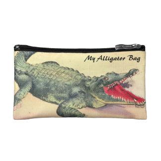 Alligator Bag Cosmetic Bags