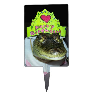 Alligator Birthday Cake Topper