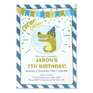 Swamp Birthday Invitations Zazzle