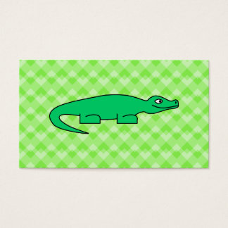 Alligator. Business Card